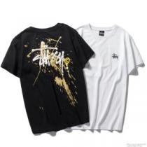 ステューシー STUSSY 半袖Tシャツ 2色可選 海外限定アイテム 2020最安値!(hiibuy.com zOreeC)-1