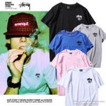 2020【SALE!】 人目を引く存在感 ステューシー STUSSY 半袖Tシャツ 多色可選(hiibuy.com yWP9Tf)-1