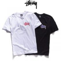 2色可選 ステューシー STUSSY 2020年人気満々のブランド 半袖Tシャツ ストリートファッション(hiibuy.com uaqSHb)-1