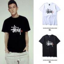 ミックス感が溢れる ステューシー STUSSY 2020【SALE!】 半袖Tシャツ 2色可選(hiibuy.com j4n0Lr)-1