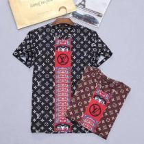 2色可選 18SS美品 ルイ ヴィトン LOUIS VUITTON 大人気ブランド 売れ筋 半袖Tシャツ(hiibuy.com u8jeGf)-1