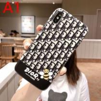 トレンド新品DIOR X KAWS iPhoneX/XS用ケース ディオール コピー 品19/20AW 限定価格 保護性能抜群 アイフォンケース(hiibuy.com CG555f)-1