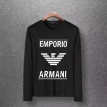 アルマーニ ARMANI 長袖Tシャツ 多色可選 都会的なイメージを与える 2020年秋に買うべき(hiibuy.com eKb8Xn)-1
