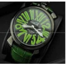 防水機能性あるガガミラノ GaGa MILANO  スリム46MM 手元で抜群のメンズ腕時計 5084.3?(hiibuy.com WbyCKD)-1