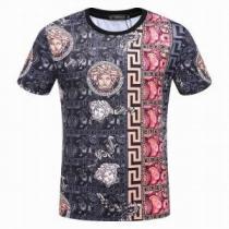 半袖Tシャツ ヴェルサーチ VERSACE  大人キレイに仕立てる   2020春夏新作 お買い得品(hiibuy.com bSbiOn)-1
