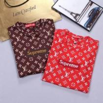 シュプリーム SUPREME着心地よい 2020春夏抜群の雰囲気が作れる! 2色可選 半袖Tシャツ(hiibuy.com uSL5fi)-1