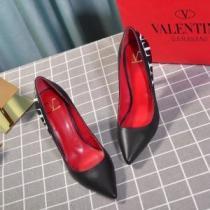 カジュアル派も憧れる限定新作 VALENTINO ハイヒール レディース ヴァレンティノ 靴 コピー ロゴいり きれいめ デイリー 安い(hiibuy.com Xf8nGv)-1