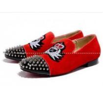 Christian Louboutinクリスチャンルブタン偽物 スニーカー メンズ ビジネス シューズ 靴 スパイク 赤色(hiibuy.com KDWbOz)-1