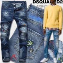 ファッション 人気 ディースクエアード DSQUARED2 2020秋冬 ジーンズ スリムフィット(hiibuy.com TLDGzy)-1