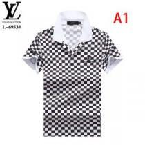 どのアイテムも手頃な価格で 2色可選 ルイ ヴィトン LOUIS VUITTON 2020春新作 半袖Tシャツファッションに合わせ(hiibuy.com TzSH1z)-1
