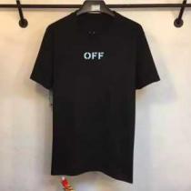 2020春夏 OFF-WHITE デザイン性の高い 半袖Tシャツ 両面可用(hiibuy.com KLP9zi)-1