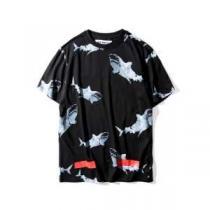 大人気再登場 2020春夏 Tシャツ オフホワイト OFF-WHITE 2色可選(hiibuy.com 0XrGLf)-1