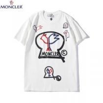 モンクレール Tシャツ サイズ感 素敵な大人らしい雰囲気を演出 MONCLER コピー メンズ 黒白2食 デイリー おすすめ お買い得(hiibuy.com STr49b)-1