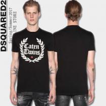 オリジナル ディースクエアード DSQUARED2 高い耐久性ある半袖Tシャツ 3色可選(hiibuy.com DK9v4f)-1