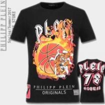 長く愛用できる 2020春夏 フィリッププレイン PHILIPP PLEIN 半袖Tシャツ 2色可選(hiibuy.com 15bSTb)-1