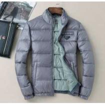 プラダPRADA  2020秋冬高級感溢れるデザイン ダウンジャケット 綿入れ 2色可選 ふわふわな感触(hiibuy.com vqKr8f)-1