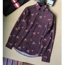 2020年最新限定HERMESシャツ コーデ 使い勝手 プリント エルメス スーパー コピー n 級ビジネスカジュアルシャツ(hiibuy.com S9vO1b)-1