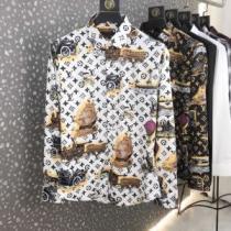 Louis Vuitton タペストリーDNAシャツ コーデ 春夏2020年も大豊作 ヴィトン コピー激安モノグラム優しい着心地(hiibuy.com XDi4ri)-1