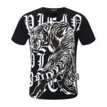 半袖Tシャツ 3色可選 試してみよう フィリッププレイン 手の届くプライスが魅力的 PHILIPP PLEIN(hiibuy.com 0beGDC)-1
