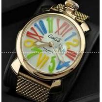 実用性に溢れるガガミラノ スーパーコピー マルチカラーインデックス 防水性ある腕時計.(hiibuy.com LPn45D)-1