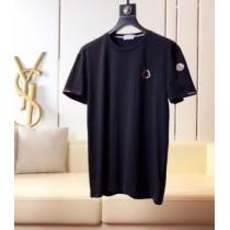 2020年春夏コレクション 半袖Tシャツ 2色可選 注目されている モンクレール MONCLER 注目度が上昇中(hiibuy.com aGHzWD)-1