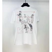 普段使いにも最適なアイテム 2色可選 Off-White オフホワイト ストリート界隈でも人気 半袖Tシャツ 20新作です(hiibuy.com 8XHfOz)-1
