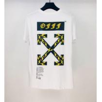 Off-White エレガントな雰囲気 オフホワイト2色可選  半袖Tシャツ おしゃれな人が持っている(hiibuy.com v4vqiq)-1