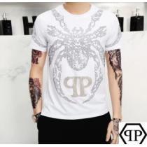 2色可選 どのアイテムも手頃な価格で 半袖Tシャツ ストリート系に大人気 フィリッププレイン PHILIPP PLEIN(hiibuy.com LT1bqu)-1