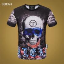 PHILIPP PLEIN エレガントな雰囲気 フィリッププレイン  おしゃれな人が持っている  半袖Tシャツ(hiibuy.com uaKHHb)-1