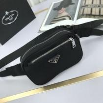 プラダ ショルダーバッグ レディース スタイルをきれいに見せ PRADA コピー 黒 レザー 通勤通学 2020SS ブランド 限定セール(hiibuy.com fSnuGv)-1