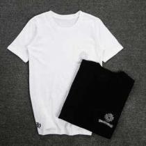 お洒落な存在感 2020春夏 クロムハーツ CHROME HEARTS 半袖Tシャツ 男女兼用 2色可選(hiibuy.com n8rCGv)-1