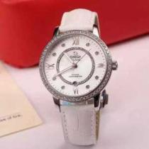 ムダな装飾を排したデザイン2020 OMEGA オメガ サファイヤクリスタル風防 女性用腕時計 7色可選(hiibuy.com iuyGPz)-1