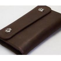 最適なサイズ クロムハーツ ウェーブウォレット クロスボタン ブラウン 安心感を得る財布.(hiibuy.com D0DSvm)-1