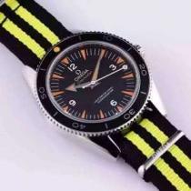 2020 オメガ OMEGA お買得 3針クロノグラフ 透かし彫りムーブメント 男性用腕時計(hiibuy.com bSHHzu)-1