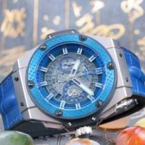 スタイルアップ効果 ウブロ  HUBLOT 5針クロノグラフ 日付表示 新作 男性用腕時計 3色可選(hiibuy.com bme8rq)-1