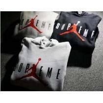 ファッション性に溢れる Supreme x Air Jordan 大人気 プルオーバーパーカー 男女兼用 3色可選(hiibuy.com qiOLPz)-1