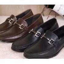 フィット感 2020 FERRAGAMO サルヴァトーレフェラガモ レザーシューズ靴 ビジネスシューズ 2色可選(hiibuy.com nequWz)-1