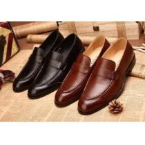 落ち着いた雰囲気で  2020 PRADA プラダ レザーシューズ靴 2色可選(hiibuy.com G51XXj)-1
