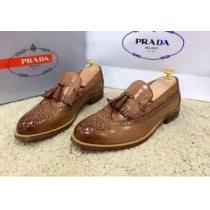 激安販売 2020 PRADA プラダ 今季セール  レザーシューズ靴 2色可選(hiibuy.com eGXDae)-1