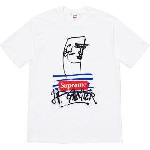 シュプリーム tシャツ コピーSUPREME超激得送料無料今年らしいゆったり半袖Tシャツ清涼感ブラックホワイト(hiibuy.com 5z0zem)-3
