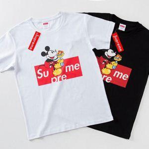 半袖Tシャツ 2色可選 【2020春夏】最新コレクション 大人っぽく仕上げ シュプリーム SUPREME(hiibuy.com KDmKjm)-3