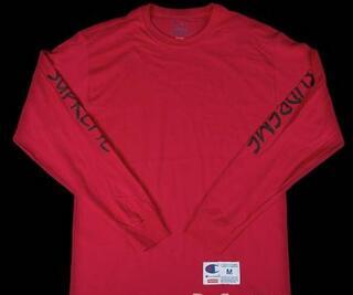 爽やかな印象を与えるsupreme レプリカ チャンピオン    ファッションを追求するロングスリーブTシャツレッド.(hiibuy.com Ca0Hji)-3