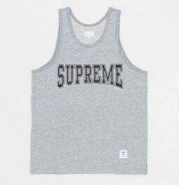 耐久にも優れたシュプリーム  カレジエートタンクトップ  動きやすいTシャツ.(hiibuy.com myGXfe)-3
