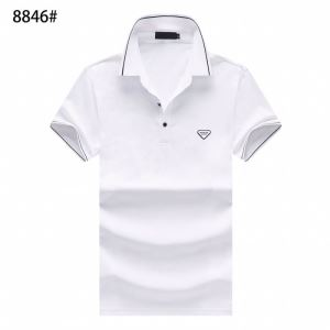 大人気のブランドの新作 半袖Tシャツ 3色可選 老舗ブランド プラダ PRADA  確定となる上品(hiibuy.com vyW9Pf)-3