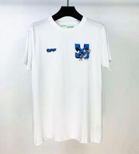 2色可選 着こなしを楽しむ 半袖Tシャツ 有名ブランドです Off-White オフホワイト 争奪戦必至(hiibuy.com vOzCmq)-3