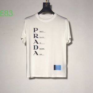 PRADA 2色可選 是非ともオススメしたい プラダ  半袖Tシャツ 手の届くプライスが魅力的(hiibuy.com f0HTri)-3