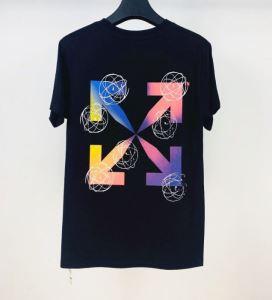 新作が見逃せない 2色可選 半袖Tシャツ 限定色がお目見え Off-White オフホワイト 一目惚れ級に(hiibuy.com 5nuKTD)-3