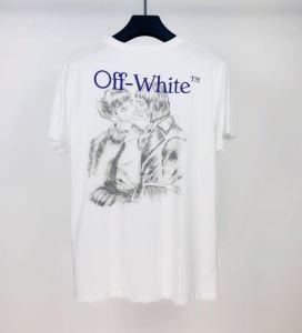 上品に着こなせ 半袖Tシャツ 日本未入荷カラー Off-White 世界共通のアイテム オフホワイト(hiibuy.com r89XXr)-3