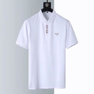 半袖Tシャツ 狙える優秀アイテム 3色可選 プラダ おしゃれに大人の必見 PRADA 絶対に見逃せない(hiibuy.com KLD09v)-3