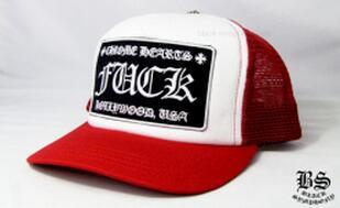素敵なアイテム クロムハーツ トラッカーキャップ FUCK レッド 愛用できる帽子 ホワイト.(hiibuy.com CWv8Pv)-3